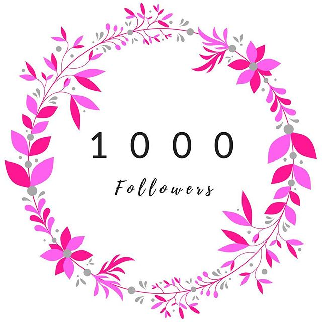 Well this is a rather special milestone! Thank you for helping me reach 1000  followers. Cue happy dance on this sunny Sunday... . . . #1000followers  #milestones #thankyou #instamum #pblogger... | SnapWidget