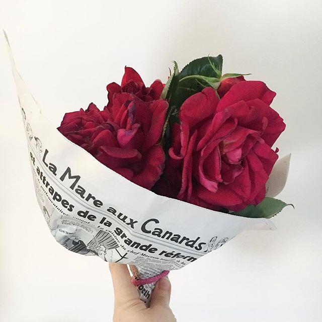 Bouquet Du Week End Lamareauxcanards Presse Humour Fleurs Rose