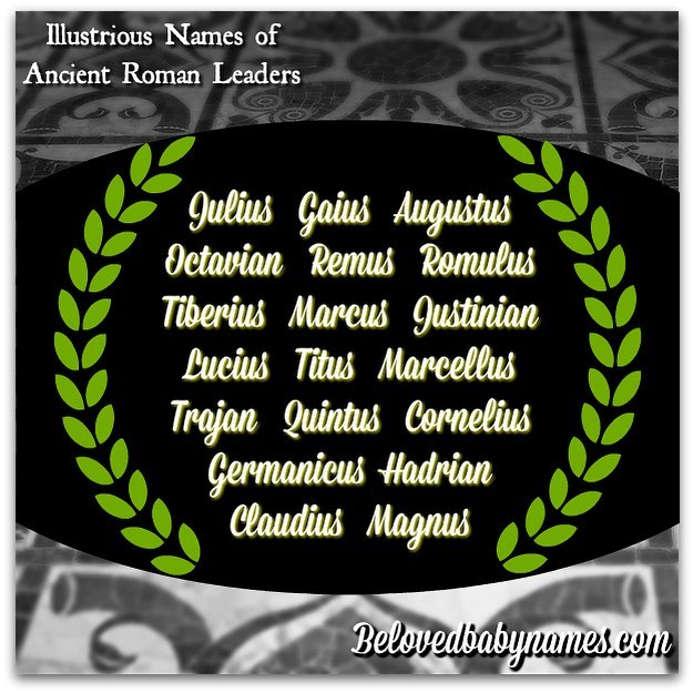 It's the ides of March! Which name of an ancient Roman leader is
