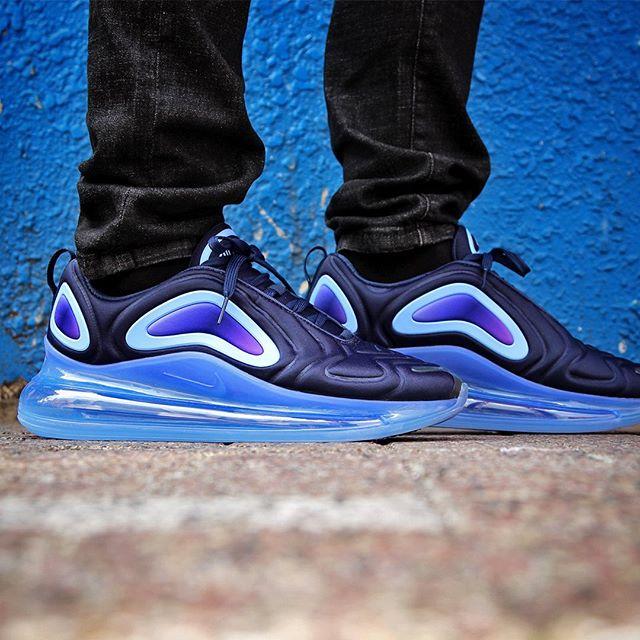 Nike Air Max 720 Obsidian/Blue Fury