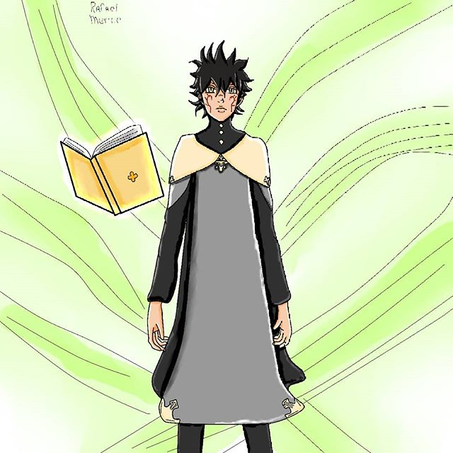 Desenho -Yuno -Black clover #drawings #draw #desenho #fanart #anime