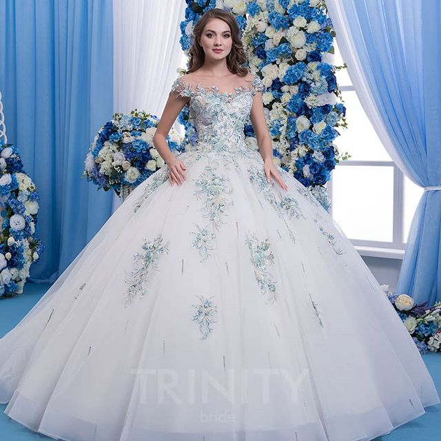 Snow White Ball Room Dresses