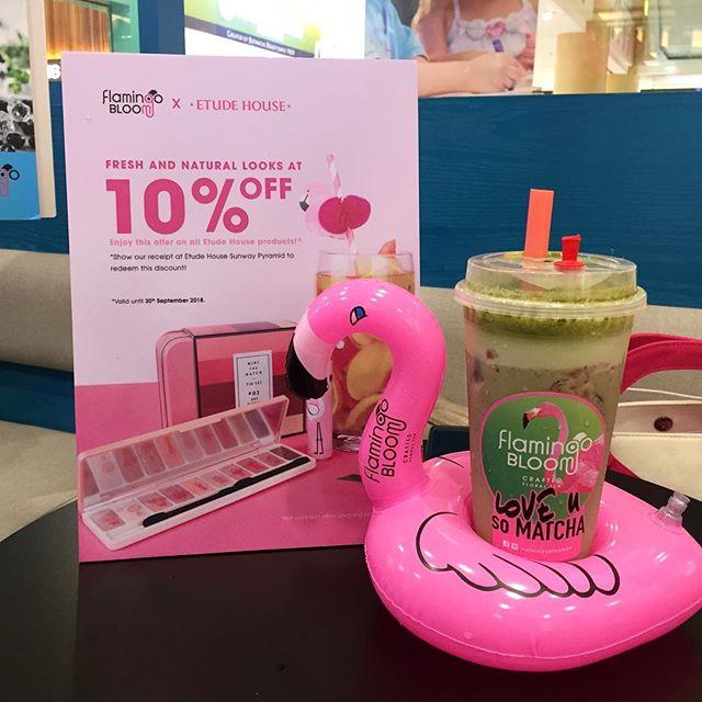 Love You So Matchaaaaaaaaa Buat Sebarang Pembelian Di Flamingo Bloom Nikmati Pelbagai Jenis Teh Dan Minuman Buah Buahan Dan Dapatkan Voucher 10 Untuk Shopping Di Snapwidget