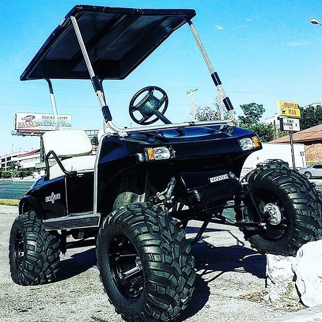 Sweet lifted Club Car DS build from @aonetirestoreinc ... on anglia build, 4x4 build, buggy build, trailer build, car build, camper build, sportbike build, jeep build,