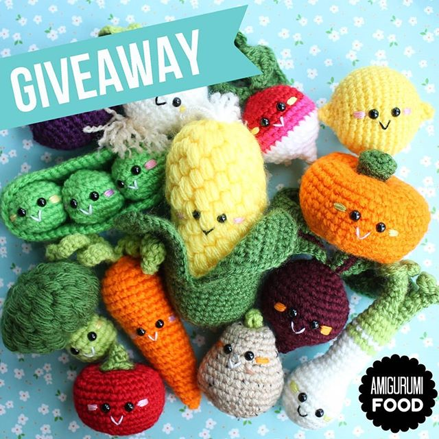 Play with Your Food: 40 Free Amigurumi Patterns to Crochet Today!   640x640