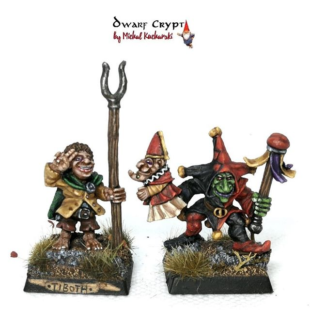 One More Time Two Little Guys From Warmongerminiatures Halfling