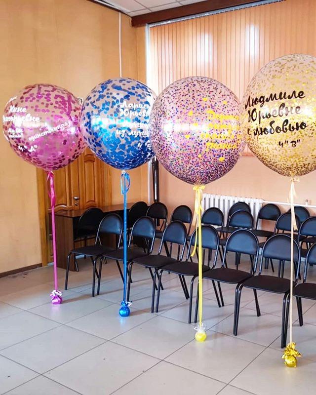 цвета, боке шарики с пожеланиями в большом шаре дизайна