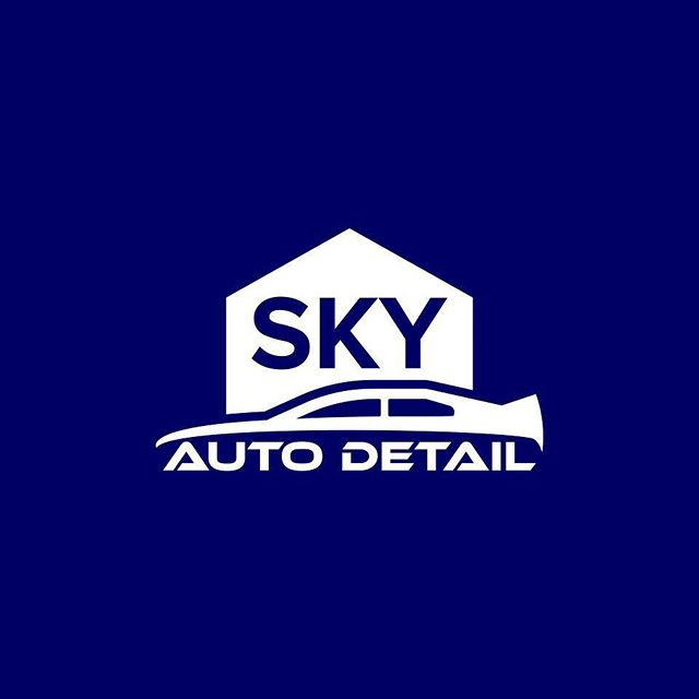 Sky Auto Detail Logo Design Branding Graphicdesign Logotype