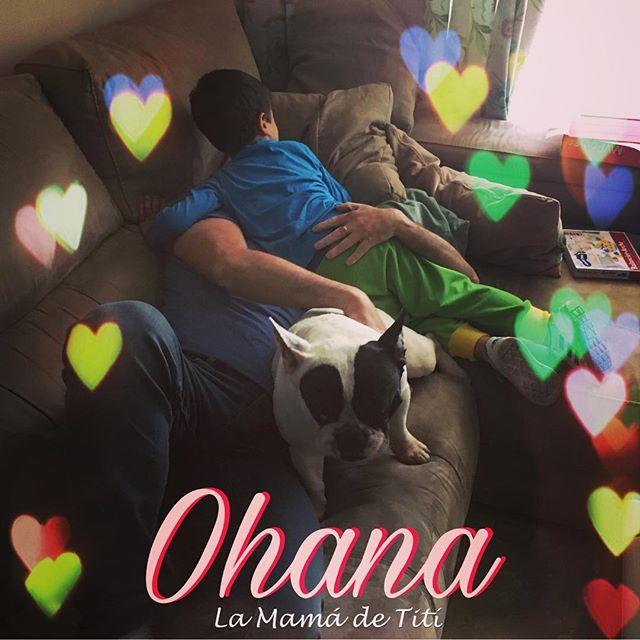 Ohana Significa Familia Familia Que Estaremos Juntos Siempre Lilo