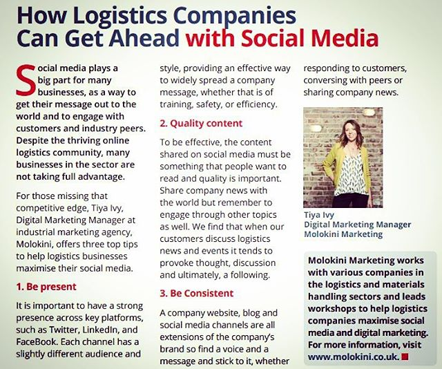 962804ffe3 As featured in Warehousing and Logistics International. Our ...