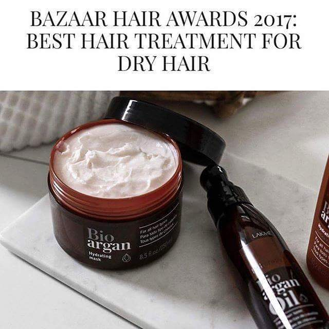 Introducing winner of ????Bazaar Hair Awards 2017: Best Hair Treatment For  Dry Hair!! . ????Lakme Bio Argan Oil and Lakme Bio Argan Hydrating Mask????  . Bring your hair back to... | SnapWidget
