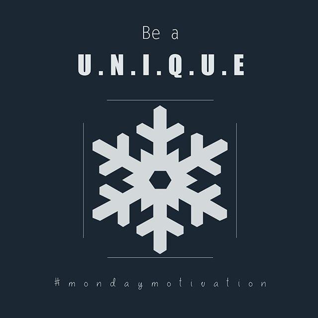 Be A Unique Snowflake Motivation Tuesday Motivationalquotes Inspiration Hustle Grind Life Instalife Instagood Instablog Blog Bloggers