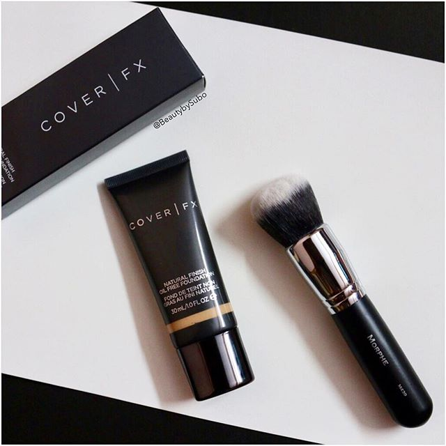 My Fav Combo Coverfx Natural Finish Oil Free Foundation And -