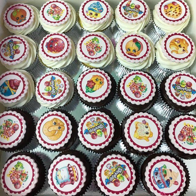 Happy Shopkins Cupcakes For Zoe Sublimecakes Birthdaycake