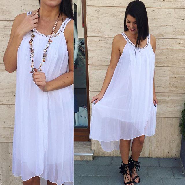 Online is rendelhető fehér nyári muszlin ruha ... 040c43ea83