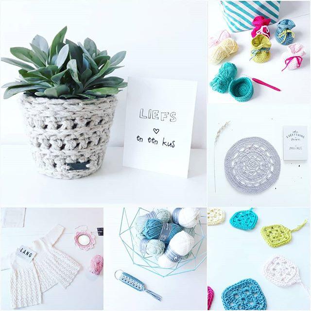 Op Naar Een Nieuwe Maand Doei April Haken Crochet
